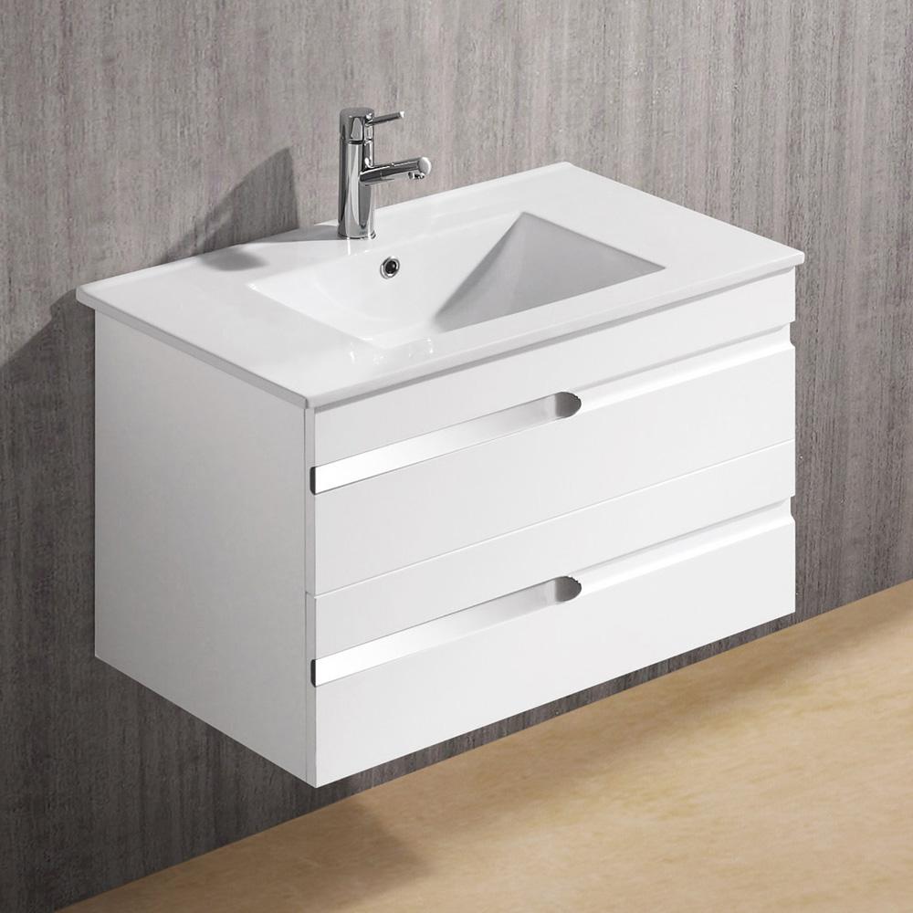 Vigo 32 Ethereal Petit Single Bathroom Vanity White Gloss Free Shipping Modern Bathroom