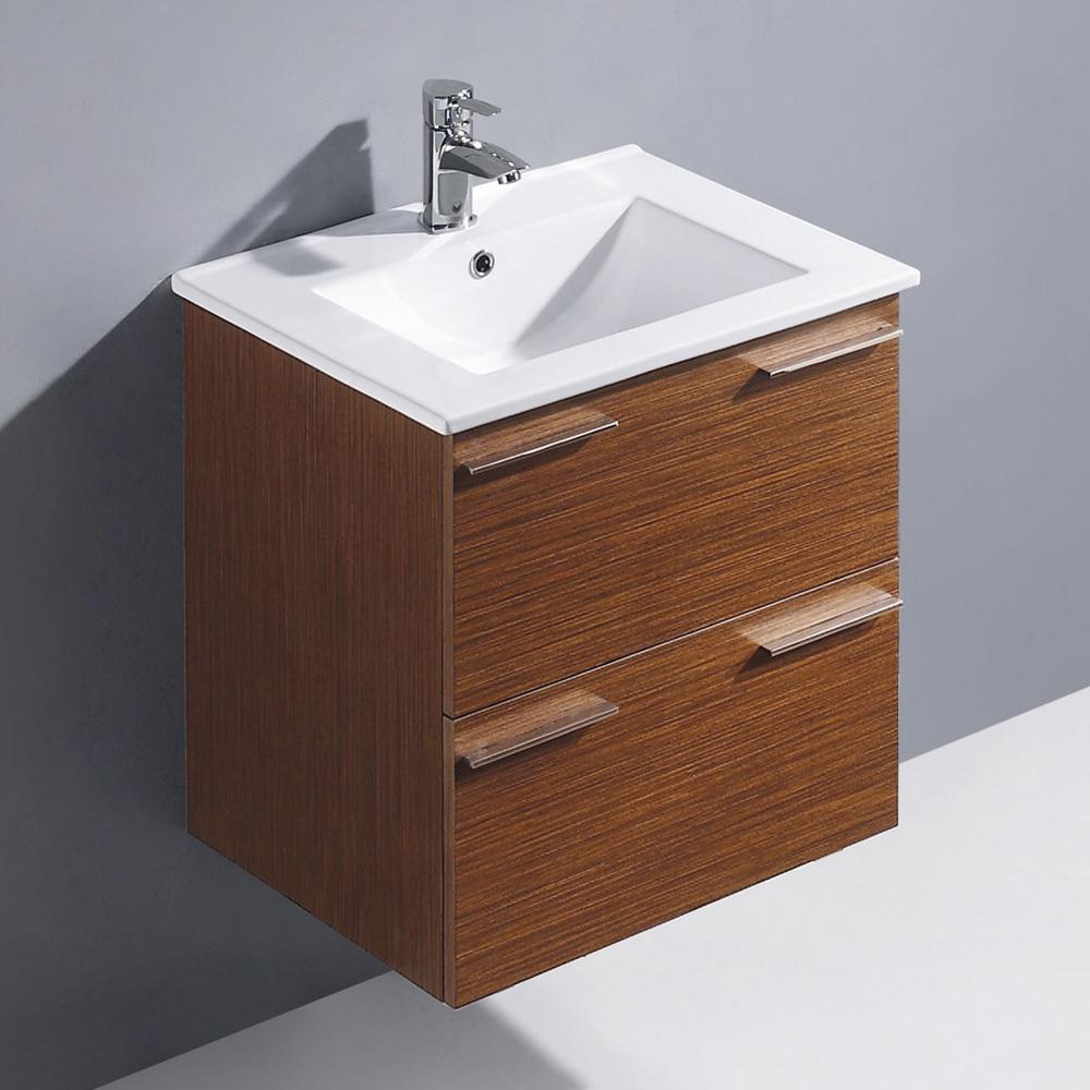 Vigo 24 Opehelia Single Bathroom Vanity Wenge Free