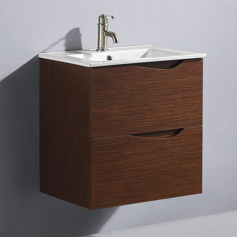 Vigo 24 Quot Suzetta Single Bathroom Vanity Wenge Free