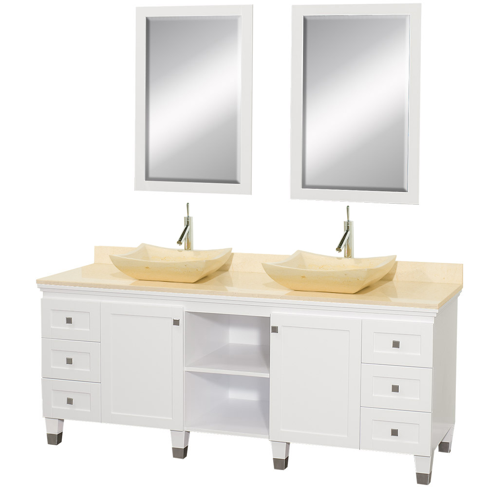 Premiere 72 Quot Bathroom Double Vanity By Wyndham Collection