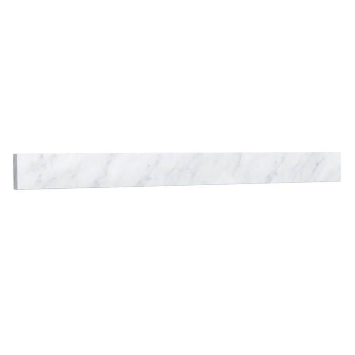 "Replacement 36"" Backsplash - White Carrara Marble REPL-WC-VCA-36-BS-CAR"