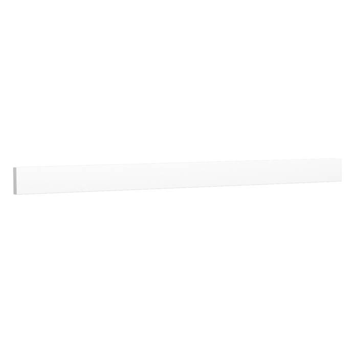 "Replacement 48"" Backsplash - White Cultured Marble REPL-WC-VCA-48-BS-WHC"