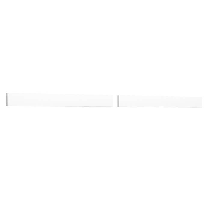 "Replacement 54"" Backsplash - White Cultured Marble REPL-WC-VCA-54-BS-WHC"