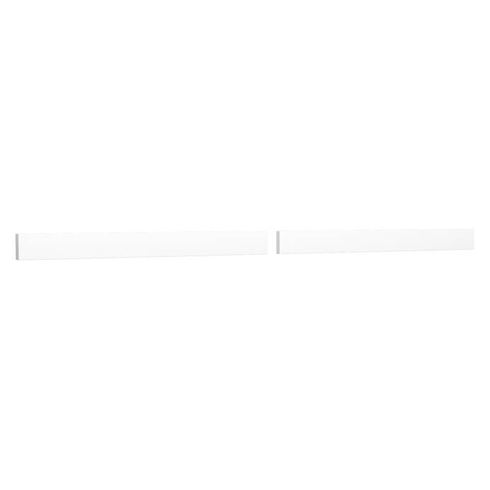 "Replacement 72"" Backsplash - White Cultured Marble REPL-WC-VCA-72-BS-WHC"