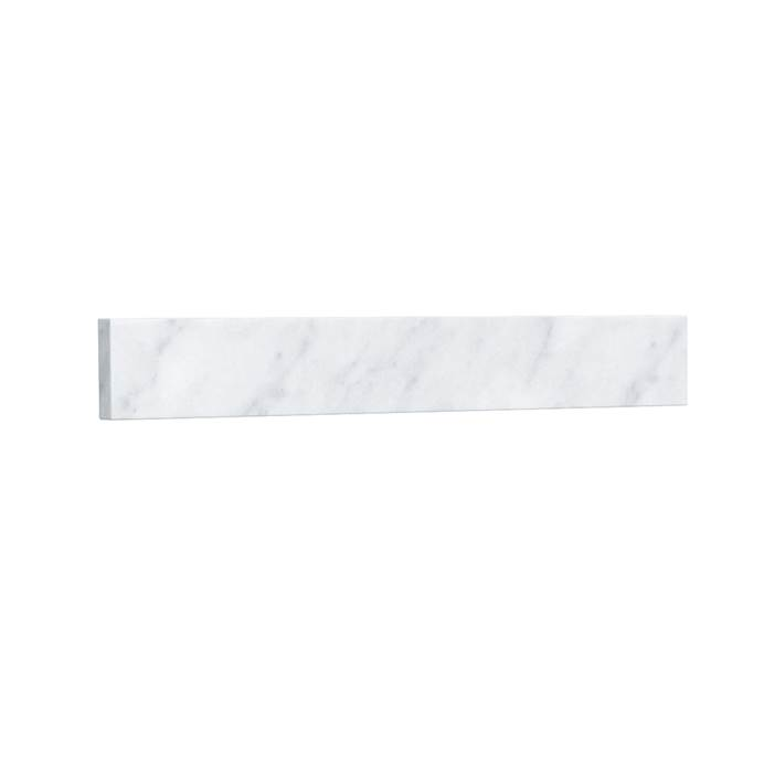 Side Splash - White Carrara Marble REPL-WC-VCA-22-SS-CAR