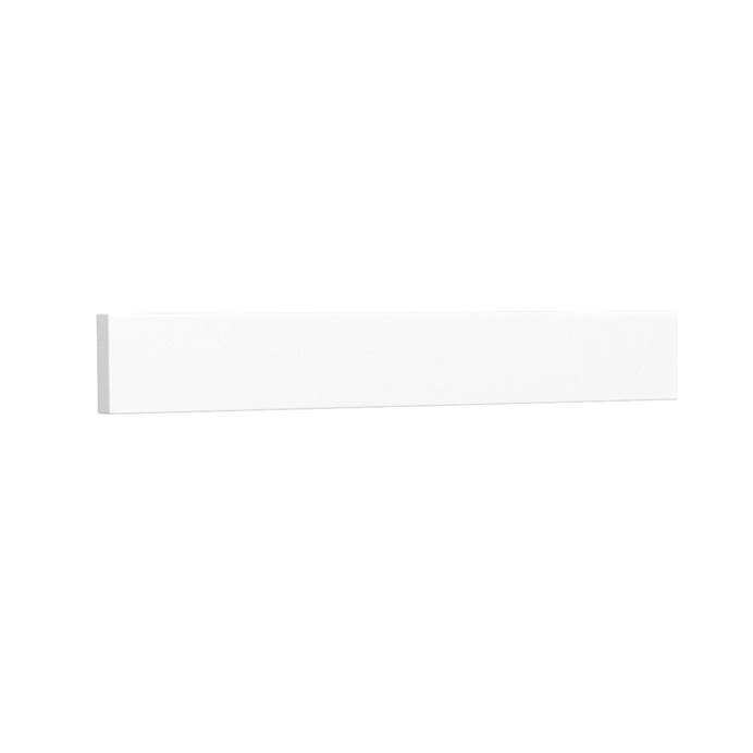 Side Splash - White Cultured Marble REPL-WC-VCA-22-SS-WHC