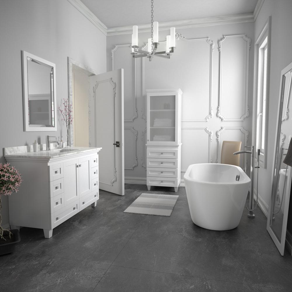 Soho 60 Quot Soaking Bathtub By Wyndham Collection Free