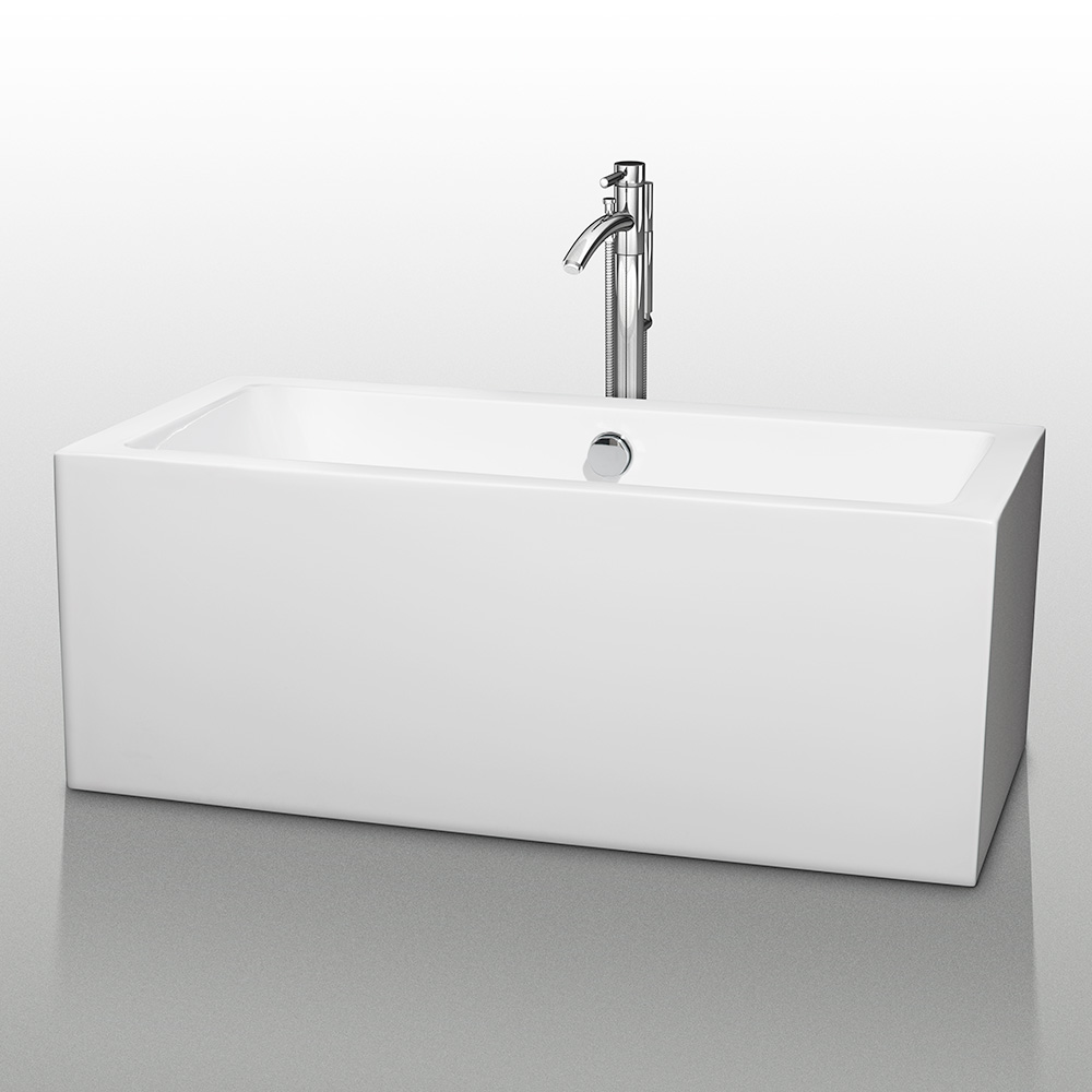 60 freestanding soaking tub. Melody 60  Soaking Bathtub by Wyndham Collection Free Shipping Modern Bathroom