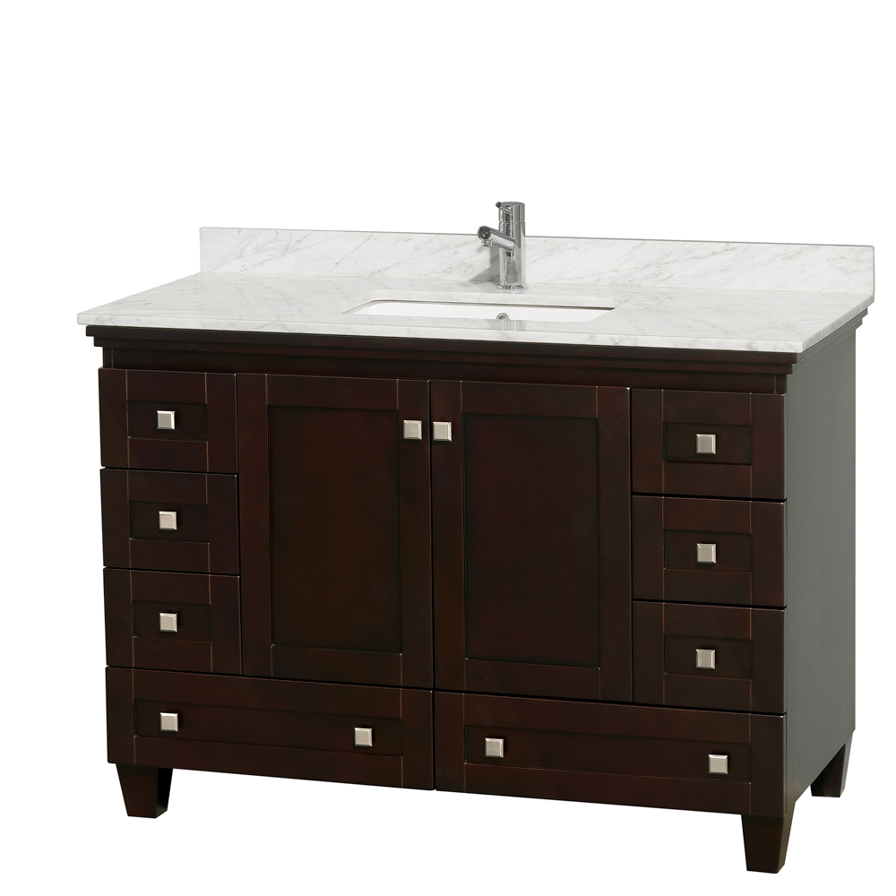 Wyndham Bathroom Vanities: Acclaim 48 In. Single Bathroom Vanity By Wyndham