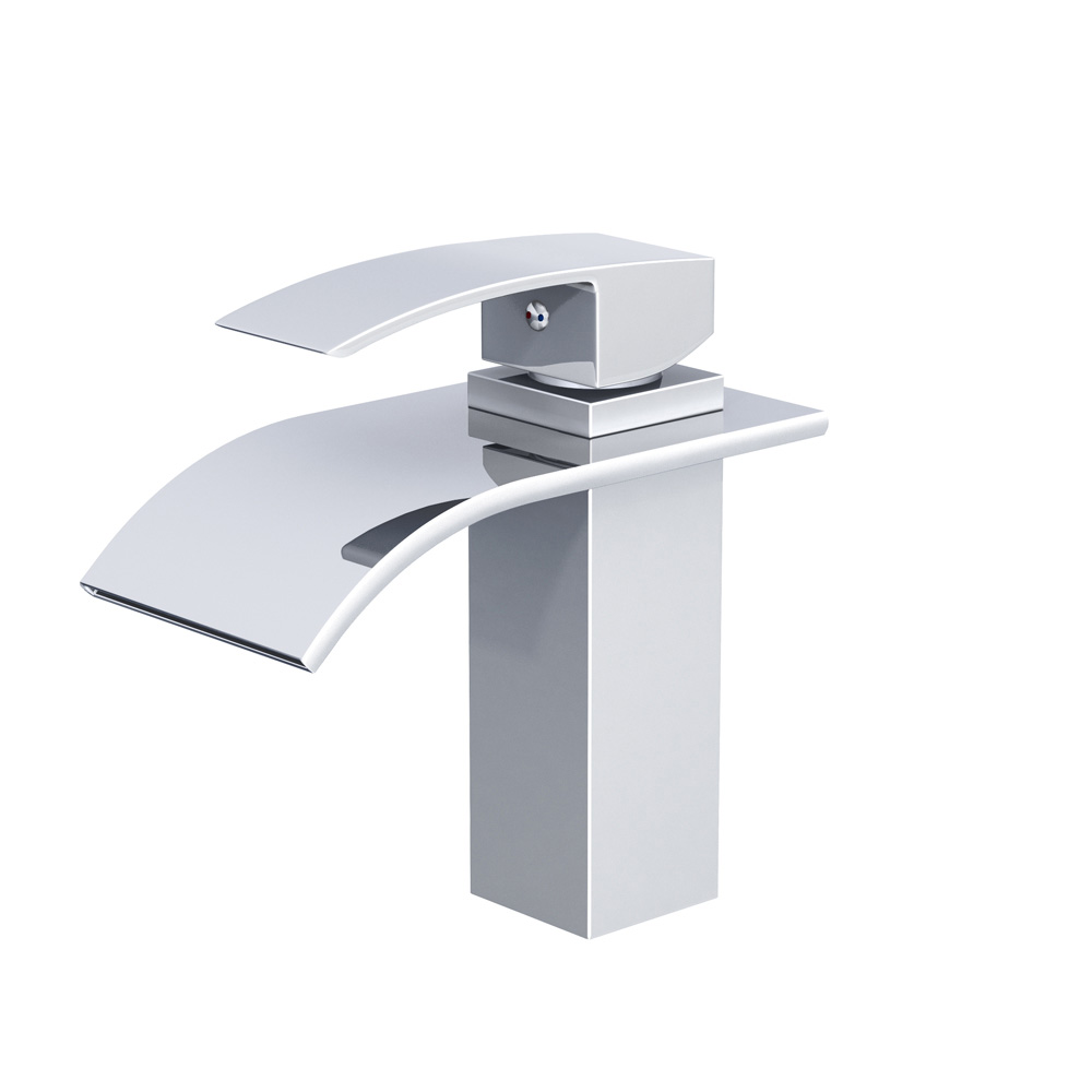 Piatti contemporary single hole bathroom faucet free for Single hole bathroom faucets