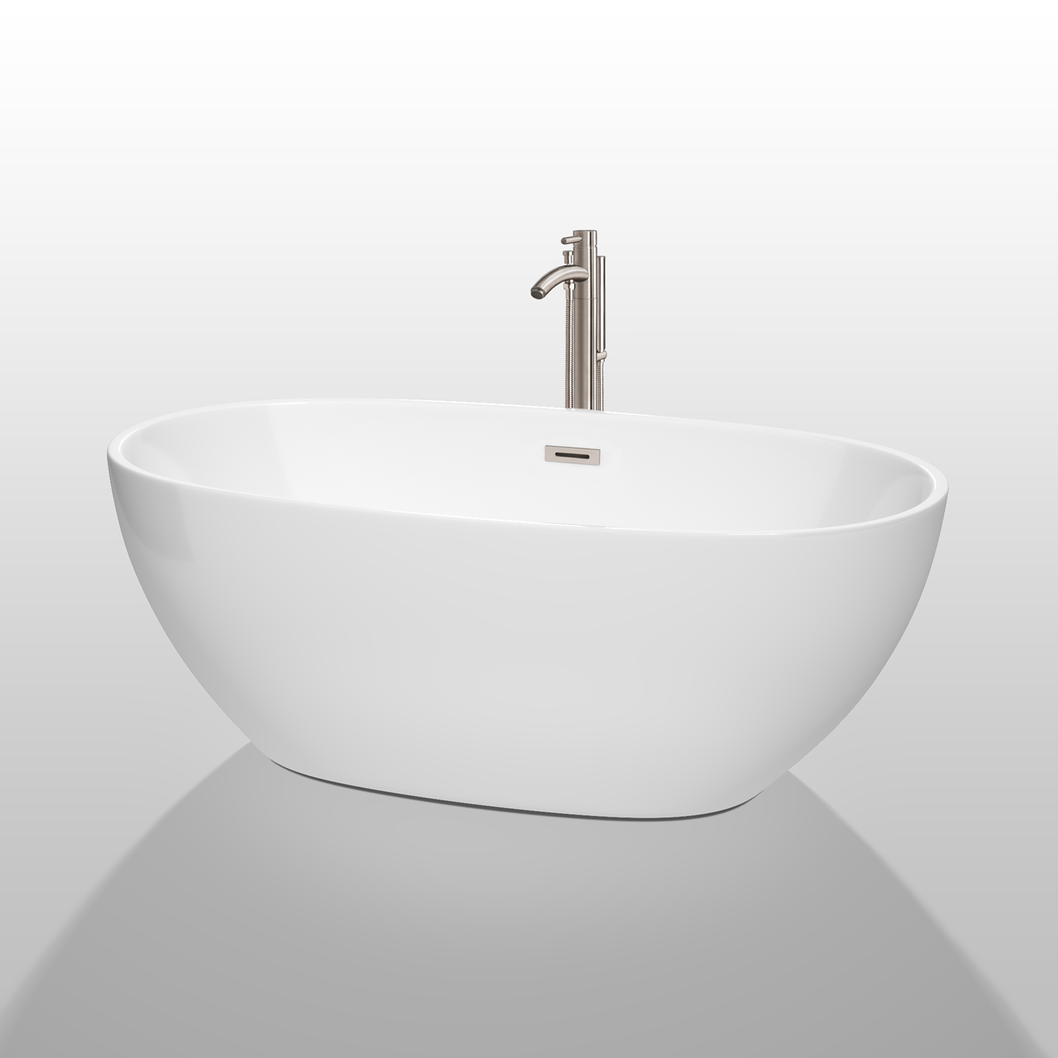 Juno 63 Quot Soaking Bathtub By Wyndham Collection White