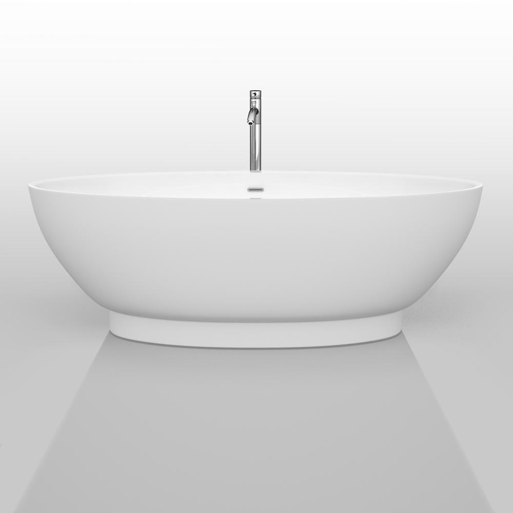 """Helen 70"""" Soaking Bathtub By Wyndham Collection"""