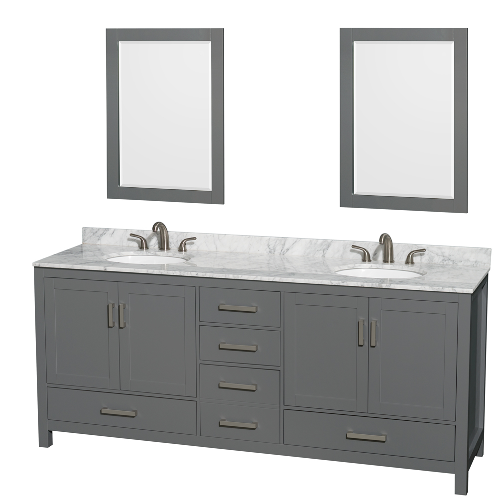 Shop Double Sink Vanity Styles - Modern Bathroom Vanities - Modern ...