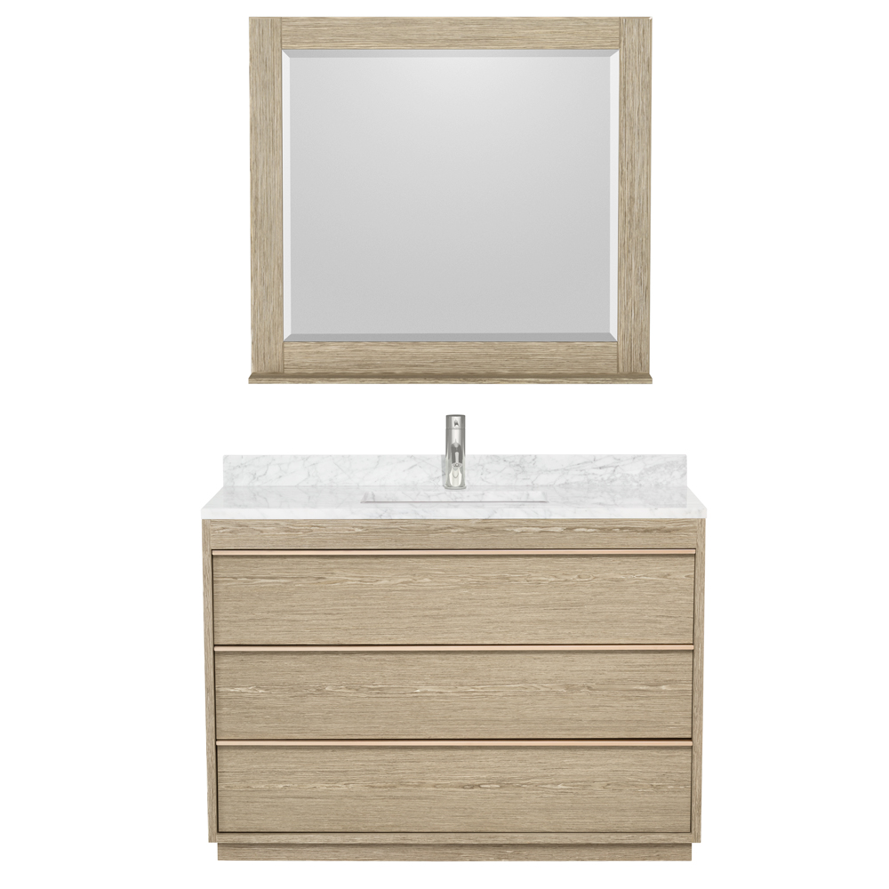 Naya 48u0026quot; Single Bathroom Vanity By Wyndham Collection   Ash Gray  WC 1818