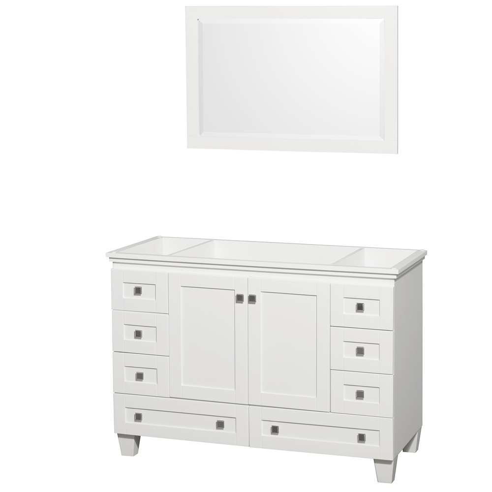 Single Bathroom Vanity By Wyndham Collection White Free Modern