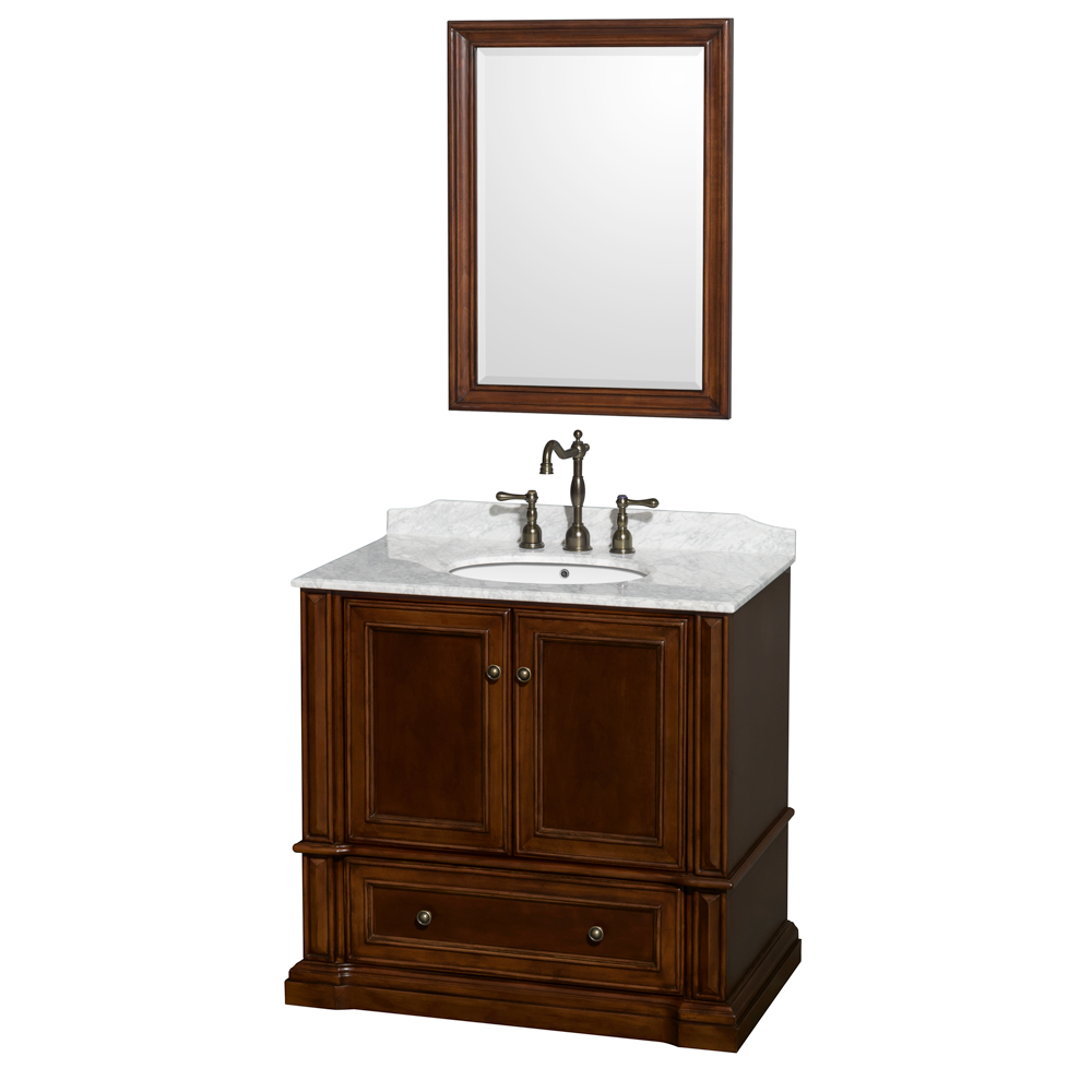 "Rochester 36"" Single Bathroom Vanity by Wyndham Collection ..."
