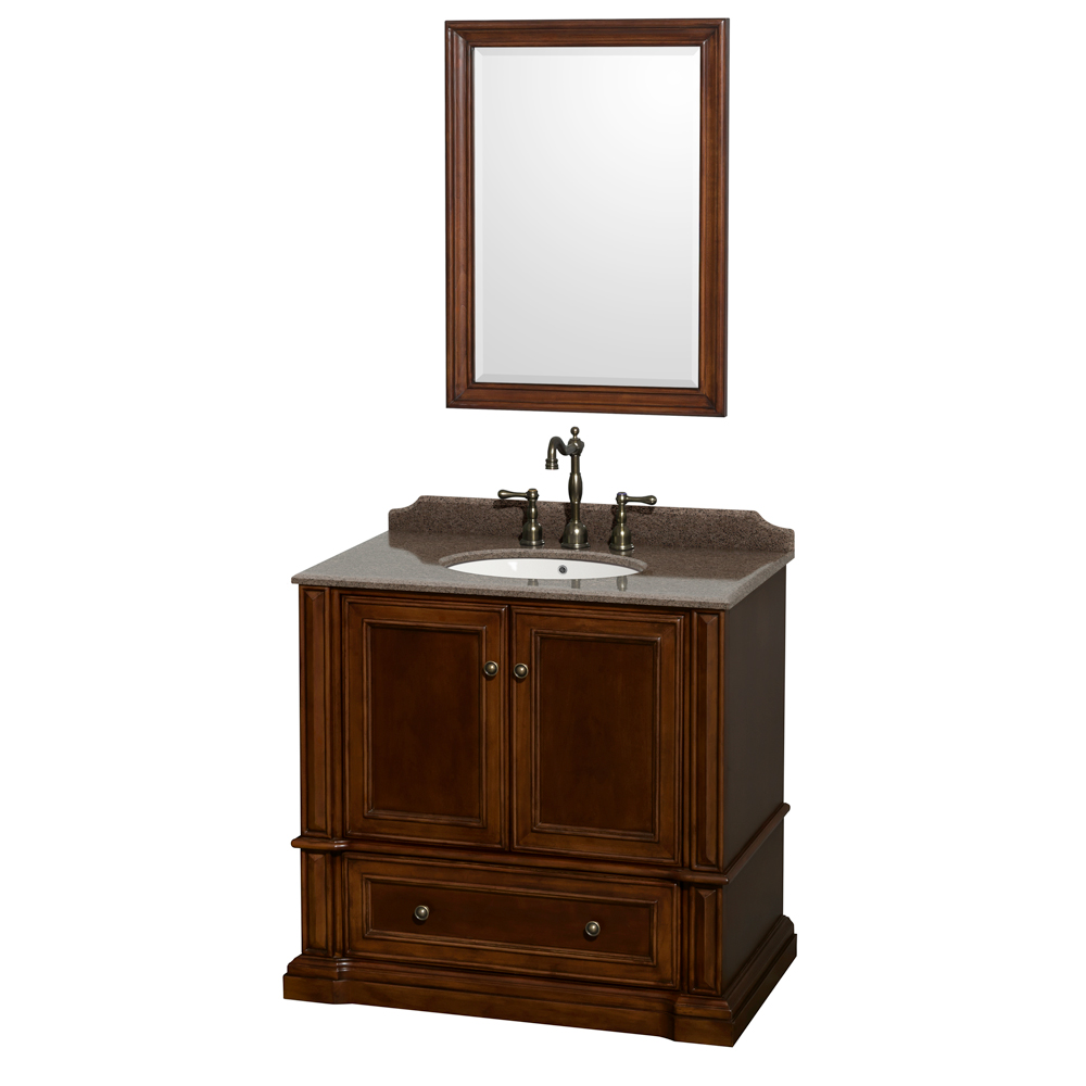 Rochester 36 Quot Single Bathroom Vanity By Wyndham Collection