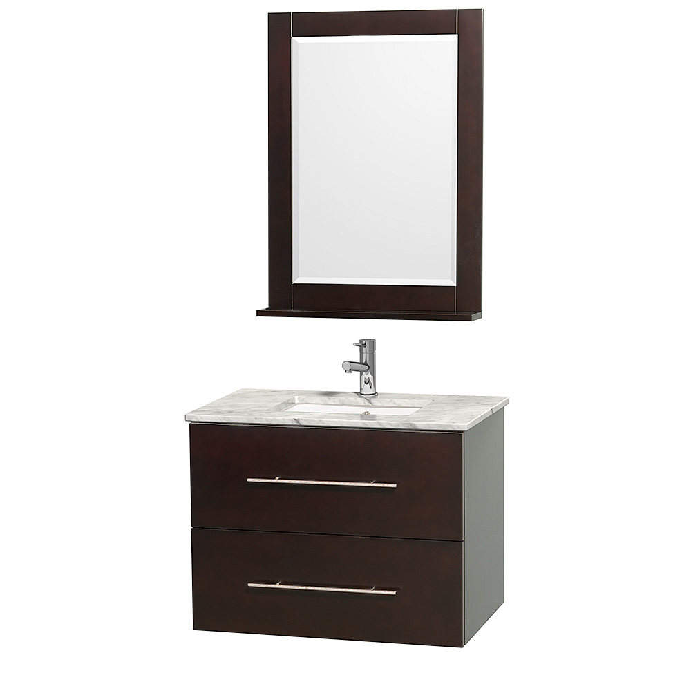 """Centra 30"""" Single Bathroom Vanity for Undermount Sinks by ..."""