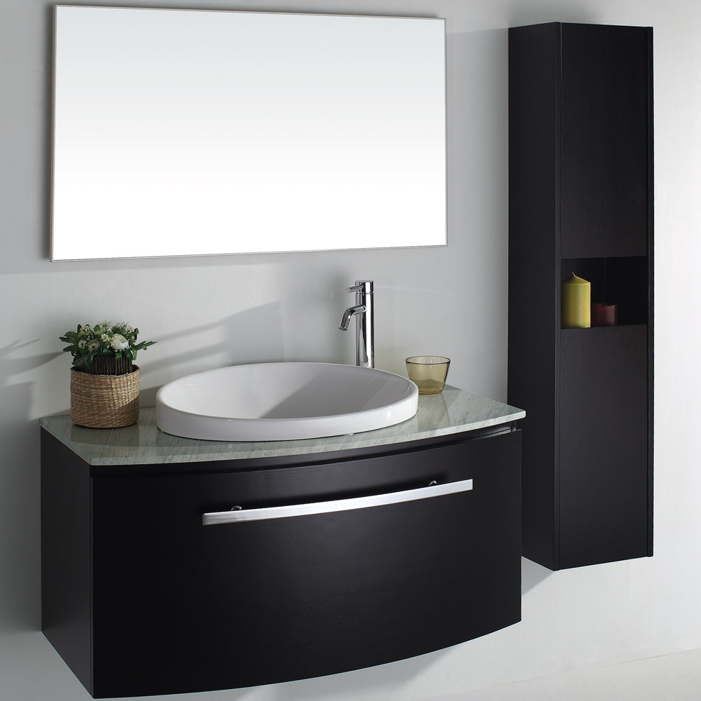 Allura Porcelain Sink Free Shipping Modern Bathroom