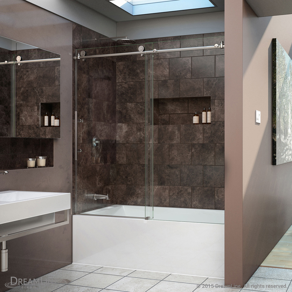 Bath Authority Dreamline Enigma X Sliding Tub Door 56 Quot 59