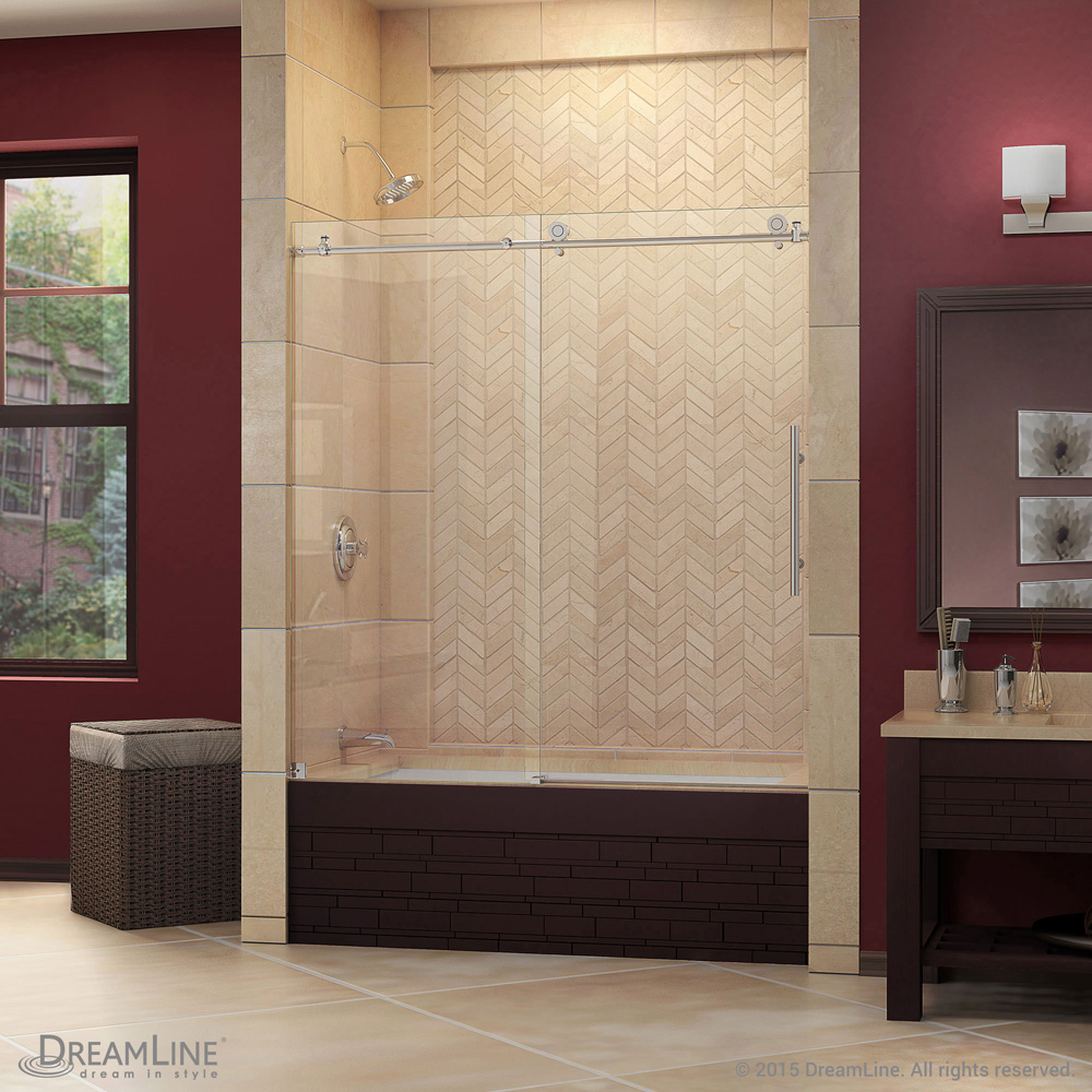 Bath Authority Dreamline Enigma X Sliding Tub Door 56 Quot 59