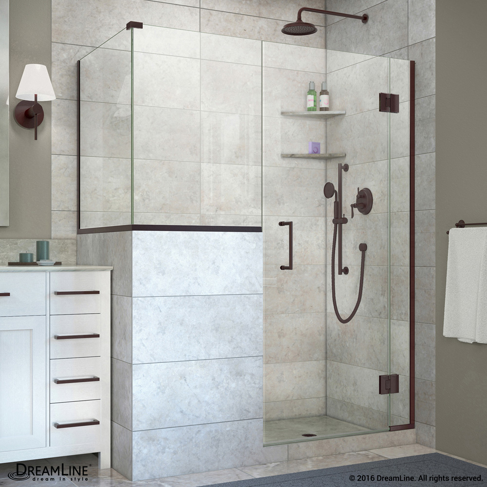 Dreamline Unidoor X 59 60 Quot W Hinged Shower Enclosure