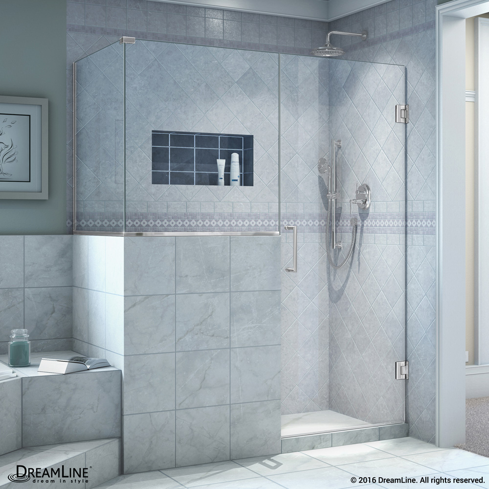 Dreamline Unidoor Plus 45 48 Quot Hinged Shower Enclosure