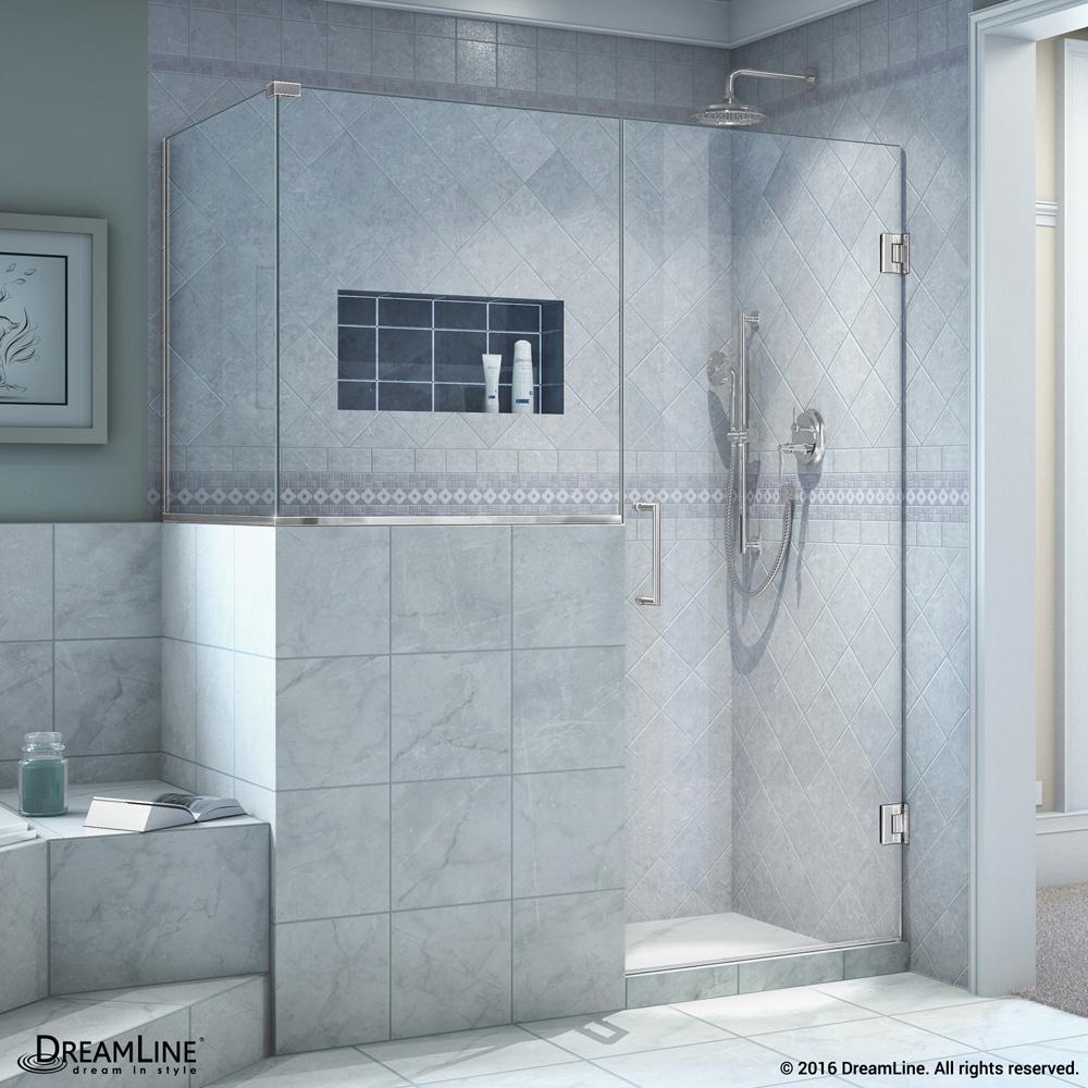 Dreamline Unidoor Plus 45 48 Quot Hinged Shower Enclosure