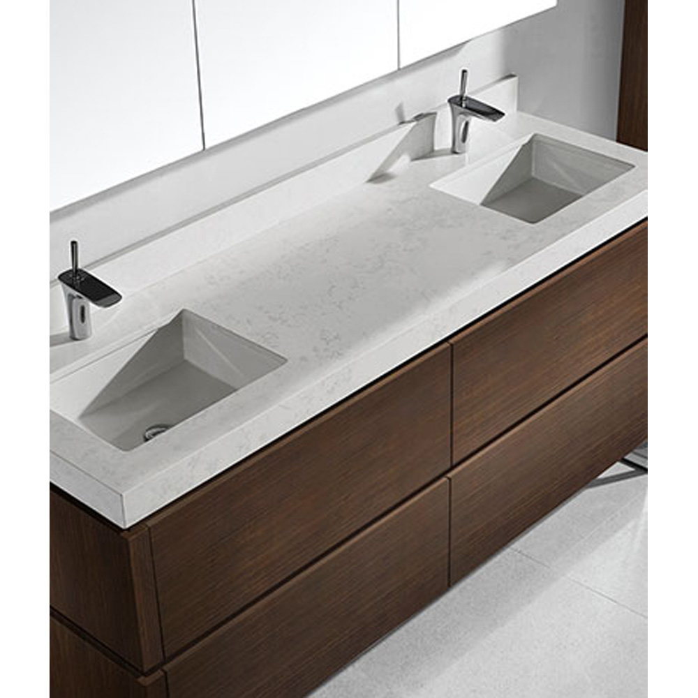 Madeli Metro 72 Quot Double Bathroom Vanity For Quartzstone