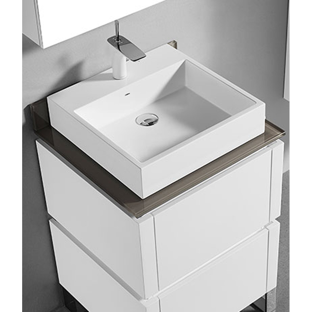Madeli Metro 24 Quot Bathroom Vanity For Glass Counter And