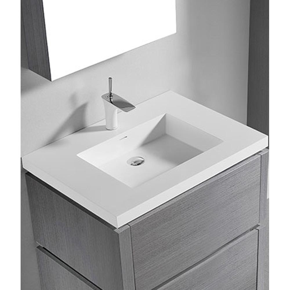 Madeli Metro 30 Quot Bathroom Vanity For Integrated Basin