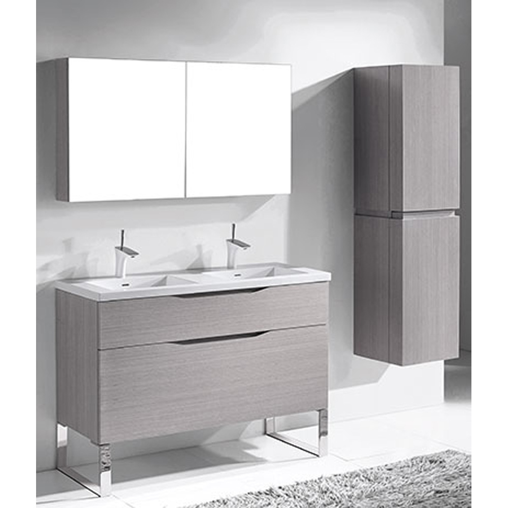 Madeli Milano 48 Quot Double Bathroom Vanity For Integrated