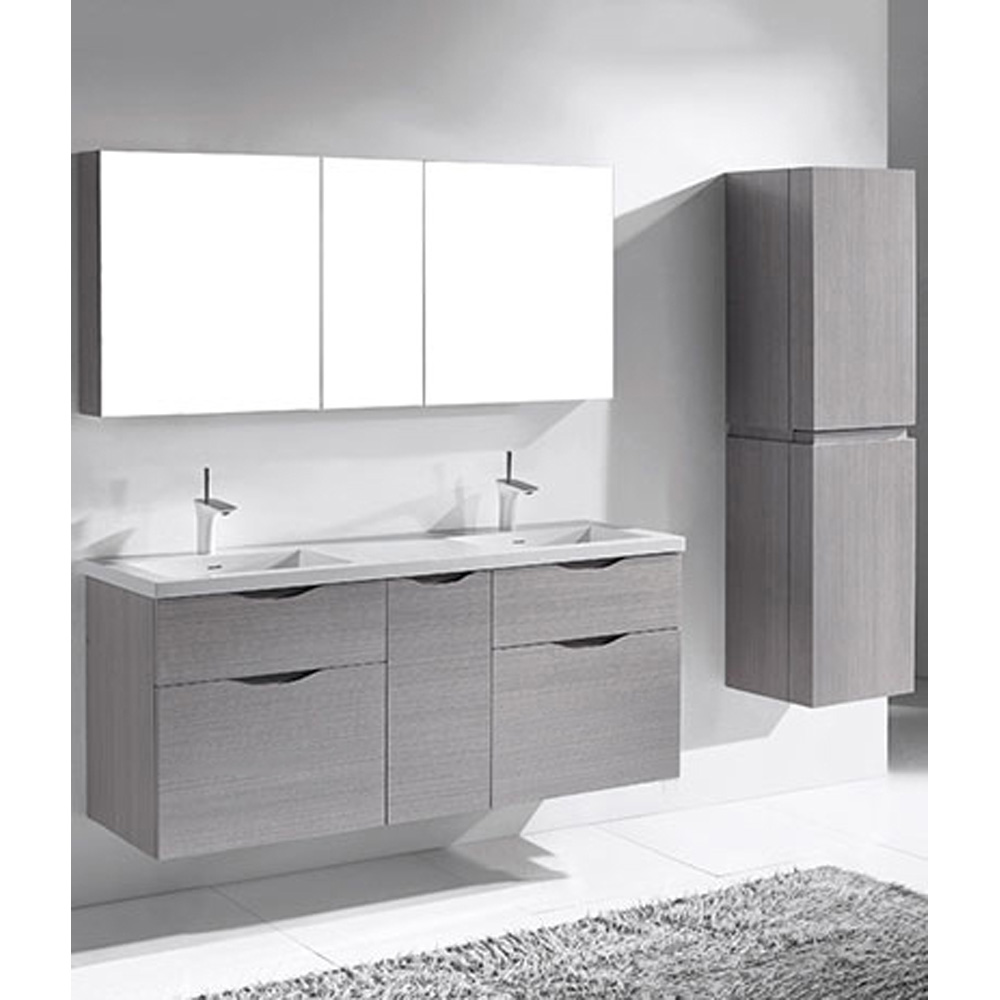 Madeli Bolano 60 Quot Double Bathroom Vanity For Integrated