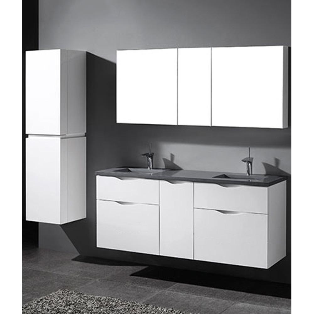 Madeli Bolano 60 Quot Double Bathroom Vanity For Quartzstone