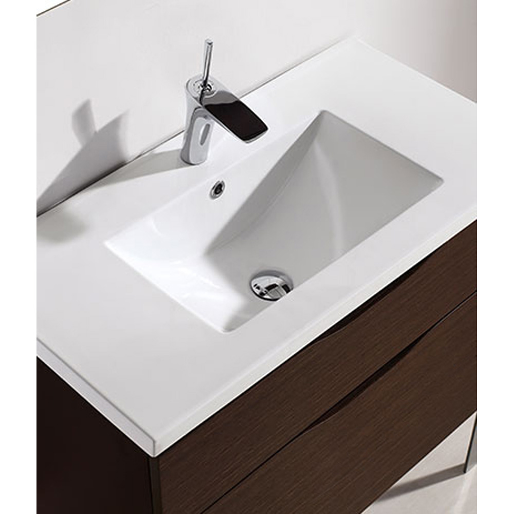 Madeli Milano 36 Quot Bathroom Vanity For Integrated Basin