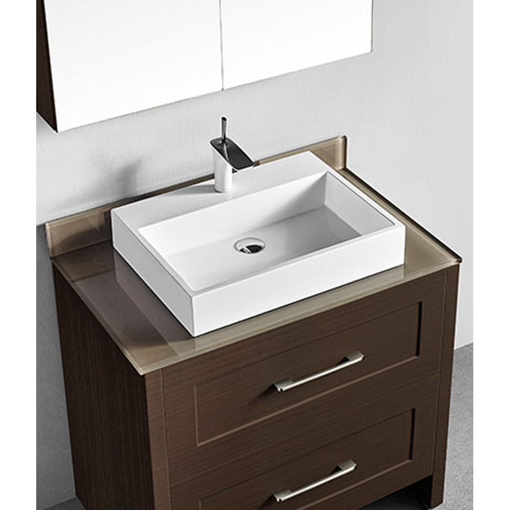 Madeli Retro 36 Quot Bathroom Vanity For Glass Counter And
