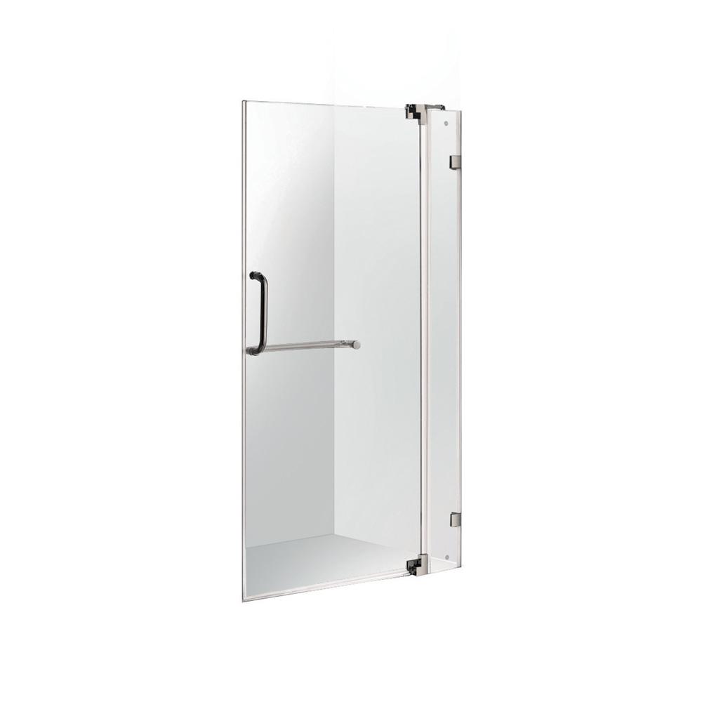 Vigo 36 Inch Frameless Shower Door 3 8 Quot Clear Glass Free