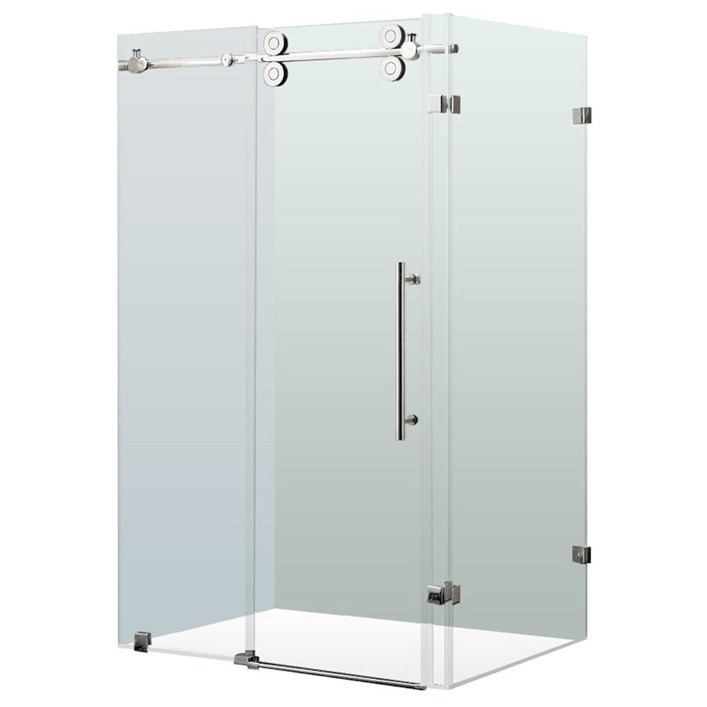 Vigo Industries Frameless Rectangular Shower Enclosure