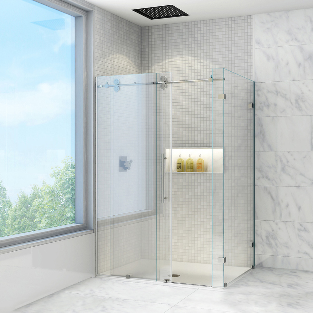 Vigo Industries Frameless Rectangular Shower Enclosure