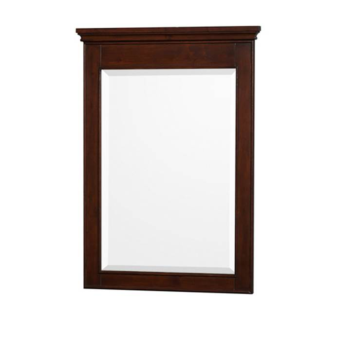 Daria 46 in. W x 36 in. H Framed Wall Mirror in Dark Espresso WCV2525M46DES