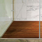 Teak Shower Trays Enhance The Aesthetics Of The Bathroom And Are  Comfortable Under Foot.